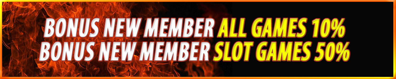 Bonue New Member Slot, Casino Togel